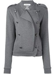 приталенная двубортная куртка  Pierre Balmain