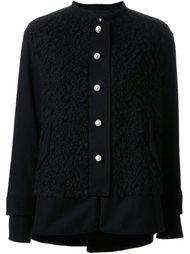 текстурированная куртка без воротника Muveil