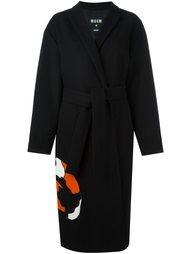 свободное пальто  MSGM