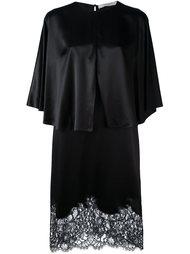 коктейльное платье с кружевной вставкой Givenchy