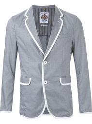 пиджак с контрастной окантовкой  Education From Youngmachines