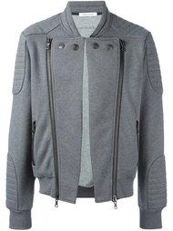 куртка-бомбер с ребристой отделкой Pierre Balmain