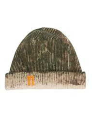distressed ribbed beanie 11 By Boris Bidjan Saberi