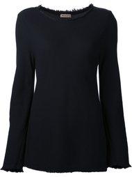 блузка с необработанными краями Masscob