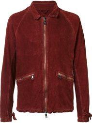 двухсторонняя куртка с мятым эффектом Giorgio Brato