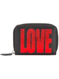 мини-кошелек на молнии с принтом 'Love' Givenchy