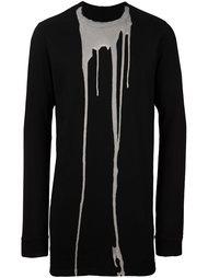 футболка 'Bleach Vomit' Rick Owens DRKSHDW