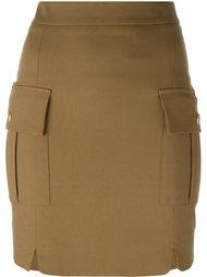 короткая юбка-карандаш  Pierre Balmain