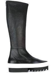 сапоги до колена на платформе Givenchy