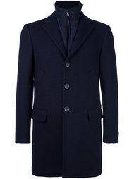 пальто с молнией Fay