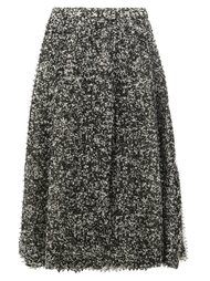 pixelated print midi skirt Anrealage