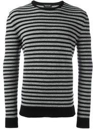 полосатый свитер с круглым вырезом Exemplaire