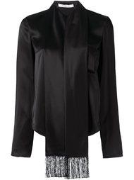 блузка с декоративным шарфом Givenchy
