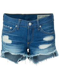 distressed denim shorts  Rag & Bone