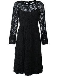 узкое кружевное платье Sonia By Sonia Rykiel