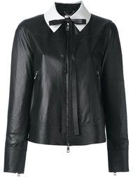 укороченная куртка с контрастным воротником Desa 1972