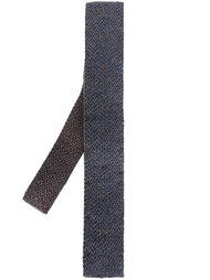 трикотажный галстук с вышитыми точками Eleventy