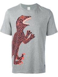 футболка с принтом динозавра Paul Smith
