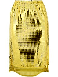 юбка с пайетками Comme Des Garçons Vintage