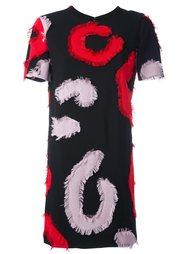 платье с вышивкой Versace