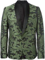 paisley lace tuxedo jacket Christian Pellizzari