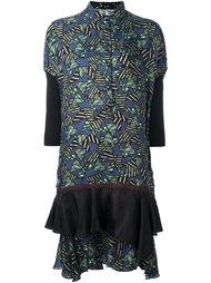 платье-рубашка с геометрическим принтом Kolor