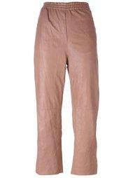 укороченные зауженные брюки Forte Forte