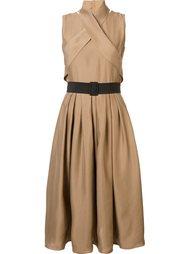 платье с поясом  Martin Grant