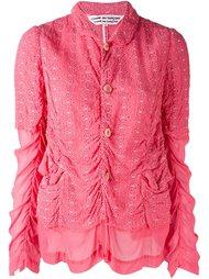 пиджак с присборенной отделкой Comme Des Garçons Vintage