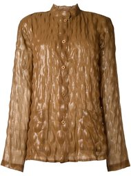 bubble effect top Issey Miyake Vintage