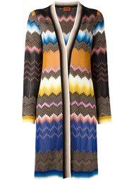 пальто с абстрактным принтом   Missoni