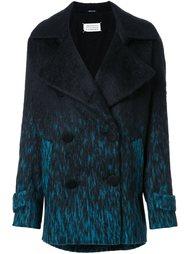 двубортное пальто с эффектом деграде Maison Margiela