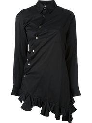 асимметричная рубашка Comme Des Garçons Vintage