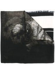 шарф с принтом ротвейлера Givenchy