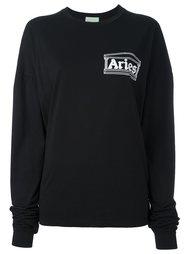 футболка с длинными рукавами и графическим принтом Aries