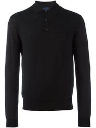 рубашка-поло с длинными рукавами Lanvin
