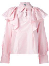 блузка с оборками  Kenzo