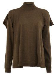 свитер с элементом накидки Maison Margiela