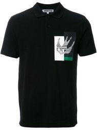 рубашка-поло с принтом 'Masai Fairisle Swallow' McQ Alexander McQueen