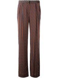 прямые брюки 'Campbell' Diane Von Furstenberg