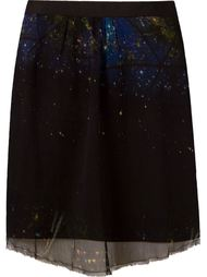 silk printed skirt Osklen