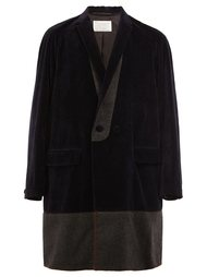 shawl collar coat Kolor