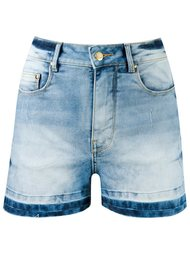 high-waist denim shorts Amapô