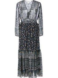 платье с цветочным принтом Veronica Beard