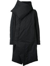 асимметричное пальто-пуховик Julius