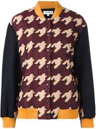 куртка-бомбер свободного кроя 'Varsity' Roseanna