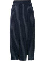 юбка в полоску со шлицами Le Ciel Bleu