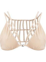 triangle strappy bra Giuliana Romanno