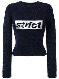 укороченный свитер  Alexander Wang