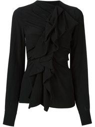 ruffle detail blouse Plein Sud